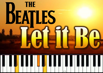 Урок фортепиано The Beatles - Let it Be